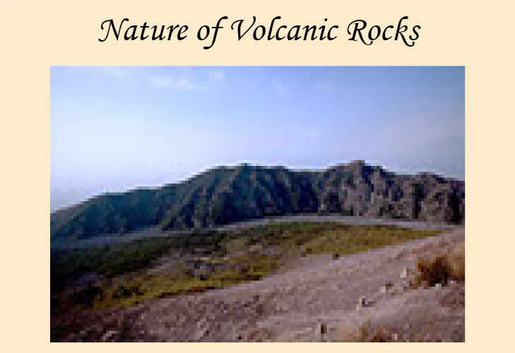 Essay on the Nature of Volcanic Rosks