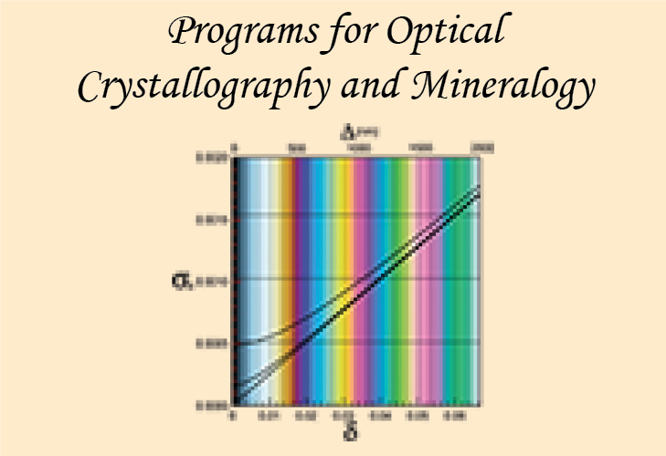 Programs for calculating optical properties of crystals