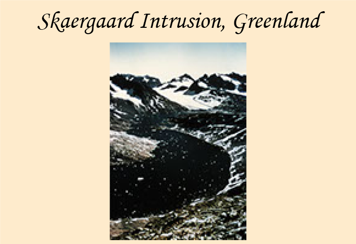 Photo-essay featuring photomicrographs of Skaergaard rocks.