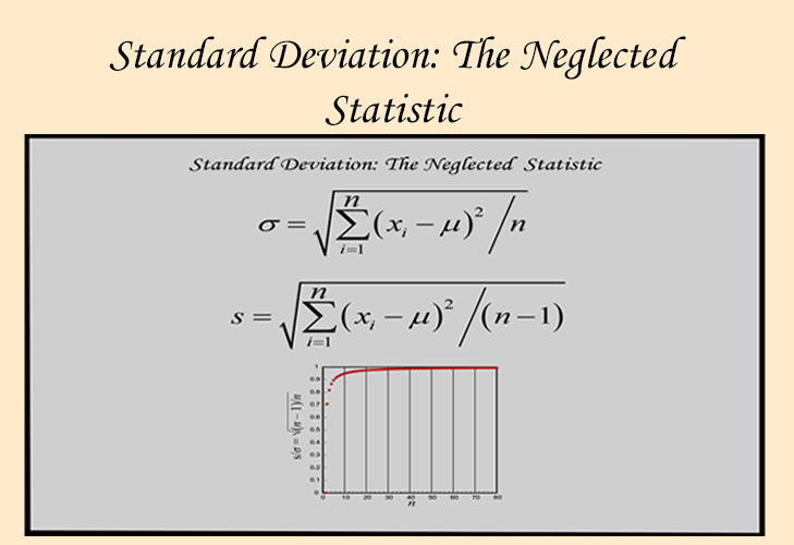 Essay on Standard Deviation, the 2nd Statistic
